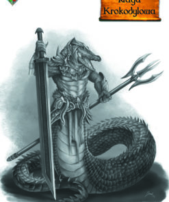 Grafika Naga Krokodylowa