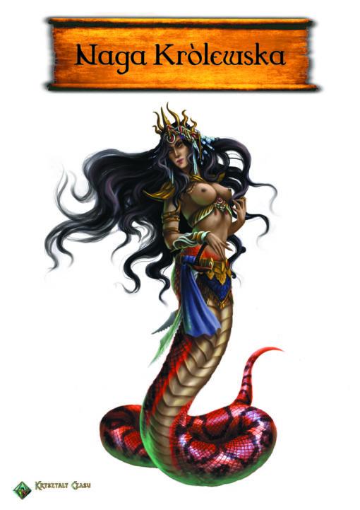 Grafika Naga Królewska (Kolor)