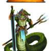Grafika Naga Krokodylowa (Kolor)