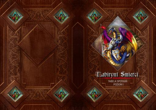 Gra planszowa: LABIRYNT ŚMIERCI - Kryształy Czasu
