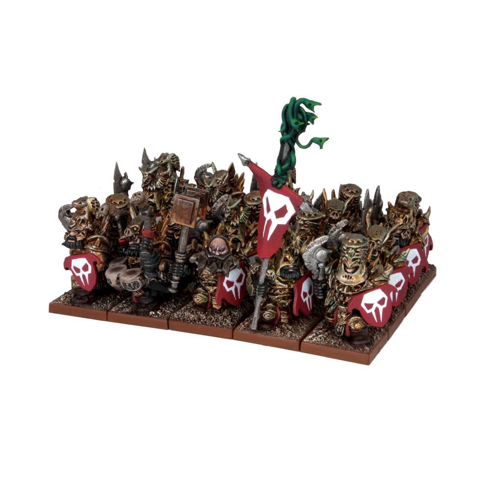 Siły Abyssal Dwarfs - Immortal Guard Regiment