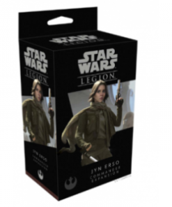 Star Wars Legion: Rebelia - Jyn Erso Commander Expansion