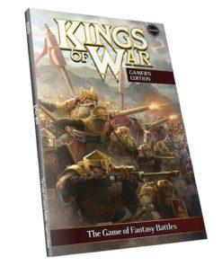 Książka z zasadami do Kings of War miękka oprawa