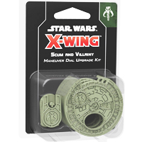 Star Wars: X-Wing - Scum & Villainy Maneuver Dial Upgrade Kit