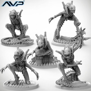 Alien Warriors UniCast